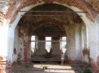 Церковь Николая Чудотворца. Вид изнутри