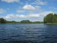 Вид на озеро Пунанец