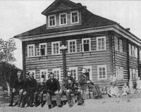 Первая Емецкая больница (примерно 1903 г.)