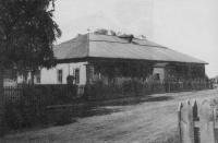Емецкое училище для мальчиков (в этом же здании проходил 1-й волостной съезд Советов)