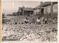 Строительство дороги, август 1959-го