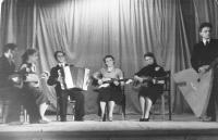 1961 год. Емецкий струнный ансамбль