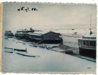 На реке Емце, 1958 г.