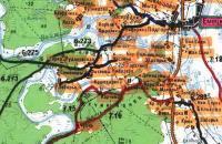 Топографическая карта. Ратонаволок