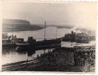 На реке Емце, октябрь 1959 г