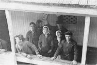 Емецкая пристань в 60-е годы