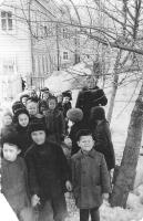 1960 год.  Детский сад на улице Горончаровского.