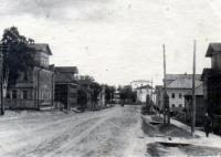 Емецк, улица Горончаровского, 1965 г.