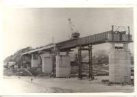 Строительства моста через Емцу, 1975 г.