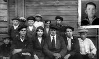 Молодежь из Хаврогор. 1940 г.