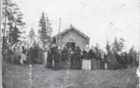 Часовня в деревне Сия. Начало ХХ в.
