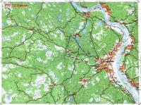 Карта емецкой округи