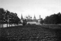 Вид Антониево-Сийского монастыря с северной стороны. 1884-1886 гг.