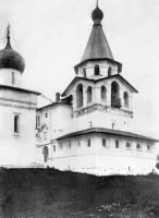 Храм-колокольня. Вид с северо-восточной стороны. Начало XX века