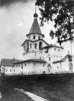 Храм-колокольня. Вид с юго-западной стороны. Начало XX века.