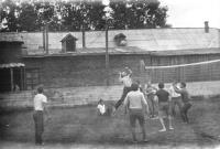 Праздничный волейбольный турнир на стадионе