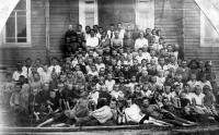 Ученики зачачьевской школы. 1930-е годы.