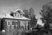 Дом Овсянкиных в д.Фёлово (Пингиша), осень 2008 г.
