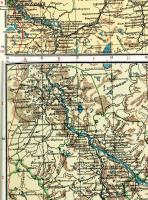 Дореволюционная карта Холмогорского уезда