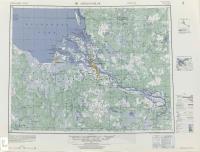 Американская карта 1955 г. Квадрат NP 37, 38-14, Arkhangel'sk