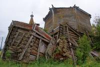 Никольская церковь, 1727 г. (Рато-Наволок)
