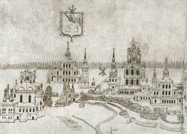 план сольвычегодска в 1793 г.